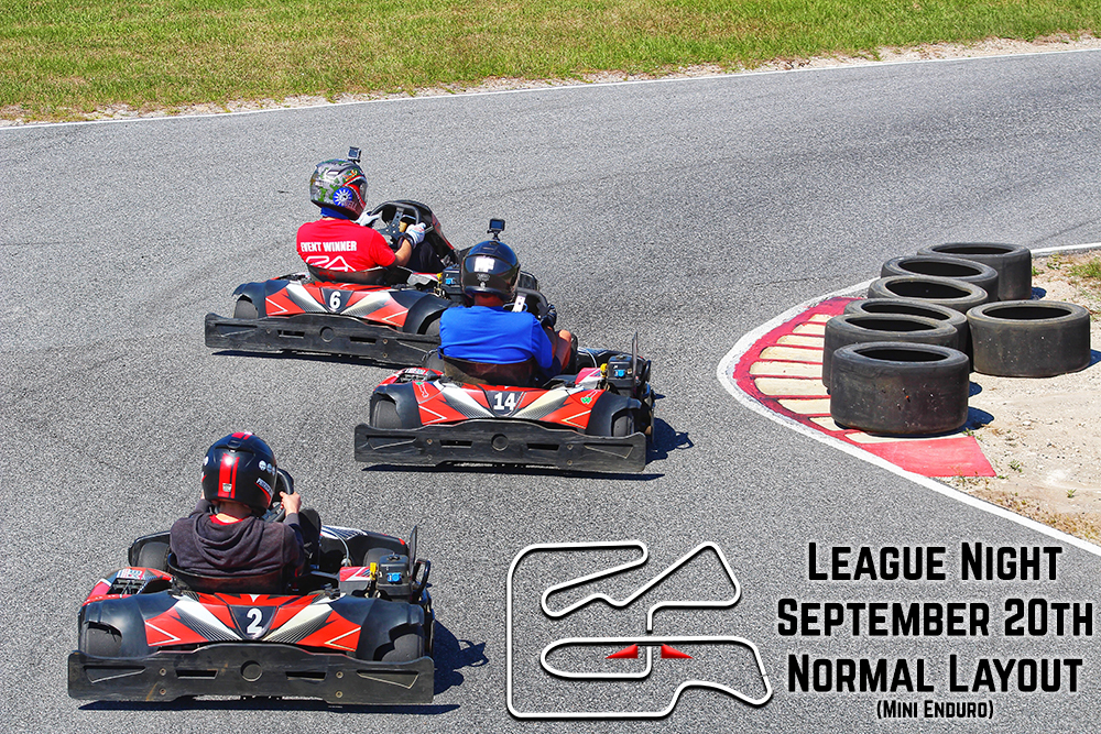 League Night Track Sept 20th