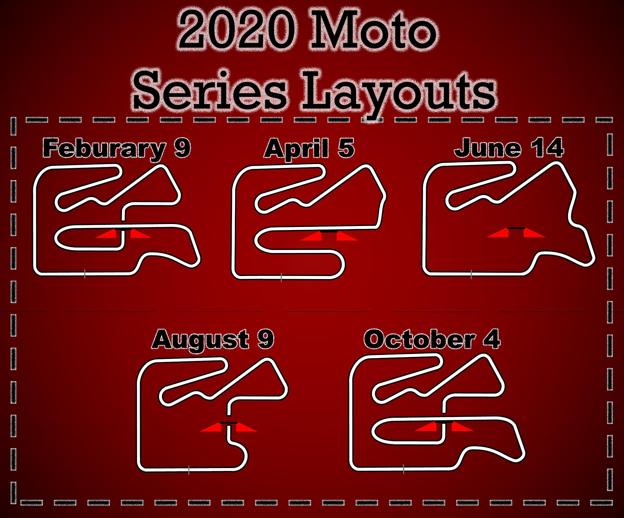 Moto layouts