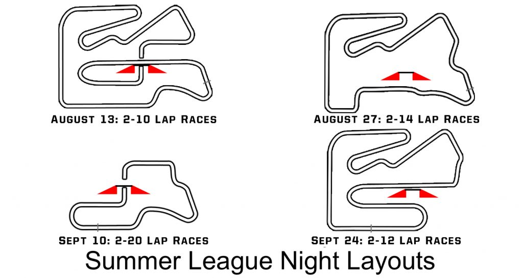 League Layouts Summer