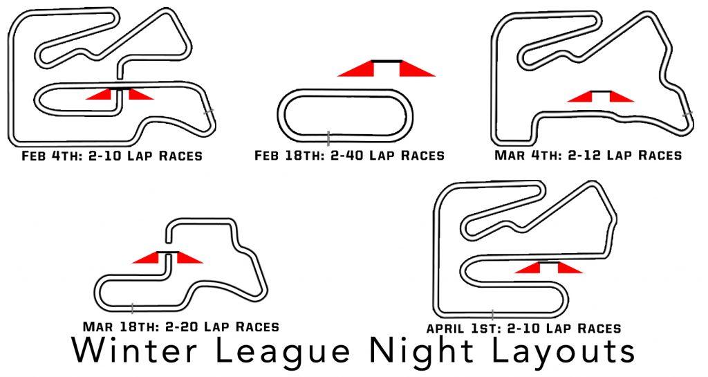 winter League Layouts